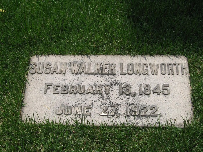 Gravestone, Susan Walker Longworth